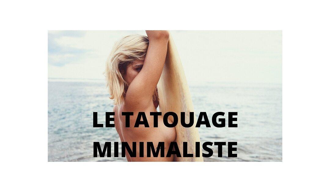 Top 5 des choses que vous devez savoir avant de faire un tatouage minimaliste